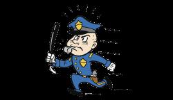 Police officer Baton Clip art - Policemen patrolling and running 800 ...