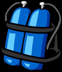 Blue Scuba Tank | Club Penguin Wiki | FANDOM powered by Wikia