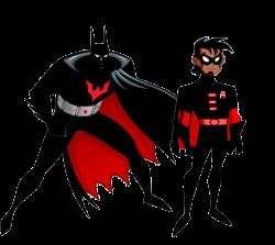 Batman And Robin Beyond By Stick Man Clip Art