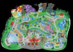 Amusement Park Clipart map - Free Clipart on Dumielauxepices.net