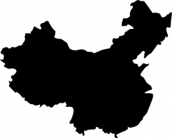 Map Of China Svg Png Icon Free Download (#218433) - OnlineWebFonts.COM