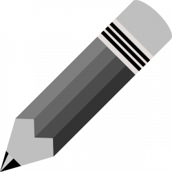 28+ Collection of Pencil Clipart Black   High quality, free cliparts ...