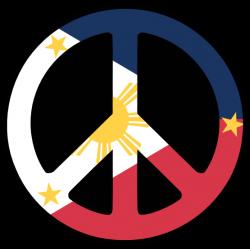 Philippines Peace Symbol Flag 4 Supercalifragilisticexpialidocious ...