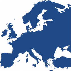 28+ Collection of Europe Clipart Map | High quality, free cliparts ...