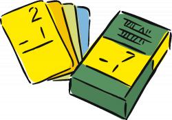 Math Flash Cards Clip Art (37+)
