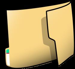 Fancy Folder 1 Clip Art at Clker.com - vector clip art online ...