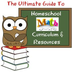 The Ultimate Guide to Homeschool Math Curriculum & Resources ...