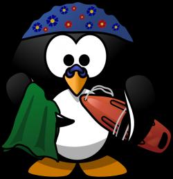 Swimming Penguin Clip Art at Clker.com - vector clip art online ...