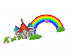 Kids Math: Multiply, Divide, Add, Subtract Rainbow Cartoon - Cartoon ...