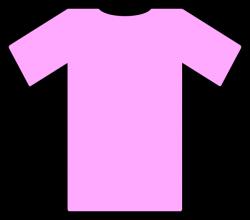 Pink Tee Shirt Clip Art at Clker.com - vector clip art online ...