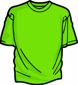 Light Green T-shirt Clip Art at Clker.com - vector clip art online ...