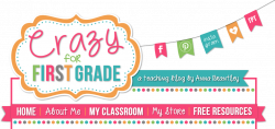 Crazy for First Grade: Beginning of the Year Math Stations in First ...