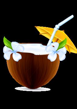 Coconut milk Nata de coco - Cartoon palm coconut milk 2480*3508 ...