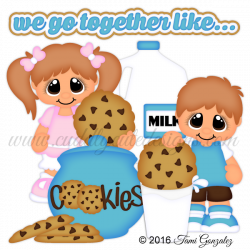 We Go Together Like...Milk and Cookies