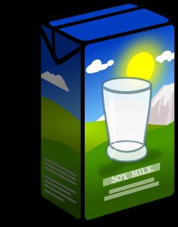 Clipart - Soy Milk Carton