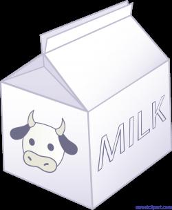 Half Pint Of Milk 6 Clip Art - Sweet Clip Art