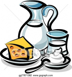 EPS Illustration - Milk products. Vector Clipart gg77871382 ...