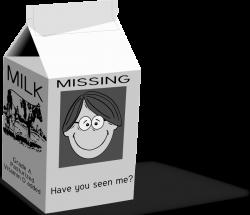 Milk | Free Stock Photo | Illustration of a carton of milk | # 14333