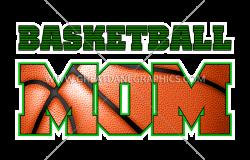 Basketball Mom | Production Ready Artwork for T-Shirt Printing