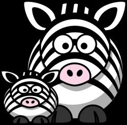Zebra Mom Clip Art Clip Art at Clker.com - vector clip art online ...