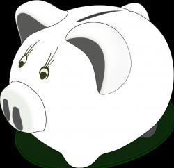 Piggy Bank Clip Art Black And White | Clipart Panda - Free Clipart ...