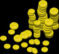 Clipart - Coins (Money)