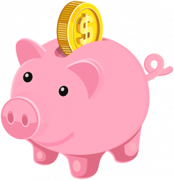28+ Collection of Piggy Bank Money Clipart | High quality, free ...