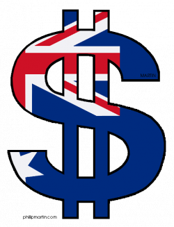 Australian Dollar Sign Clipart
