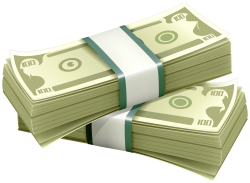 Wads Of Dollars PNG Clipart