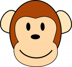 Monkey Clip Art at Clker.com - vector clip art online, royalty free ...