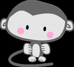 Monkey Pink Cheeks Clip Art at Clker.com - vector clip art online ...