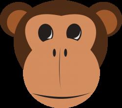 Curious George Monkey Facebook Clip art - Safari Monkey Cliparts 800 ...