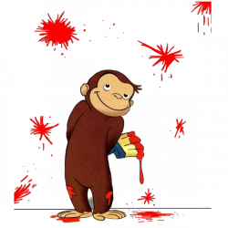 Curious George Cartoon Monkey Images On A Transparent Background ...