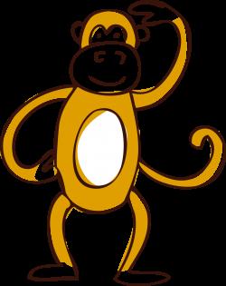 Clip art - Vector monkey 1751*2207 transprent Png Free Download ...