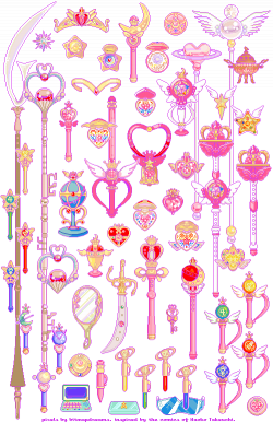 sailor moon pixel art   Tumblr