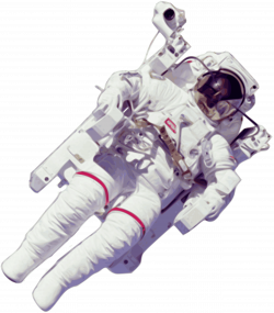 Clipart - Astronaut Large Version