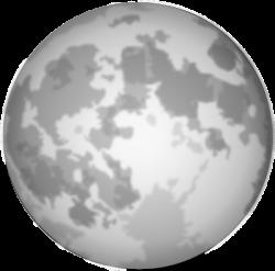 Bright Full Moon Clip Art at Clker.com - vector clip art online ...