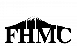 Clipart - fuji hiking mountain club logo