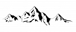 Mountain range Silhouette - mountain png download - 1276*539 ...
