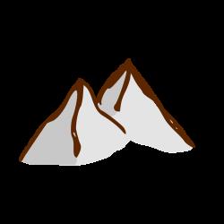 Mountain | Free Stock Photo | Illustration of a small cartoon ...