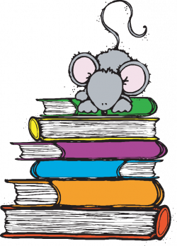 mouse+on+books.png] | school | Pinterest | School