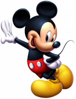 Mickey Mouse Standing PNG Image - PurePNG | Free transparent CC0 PNG ...