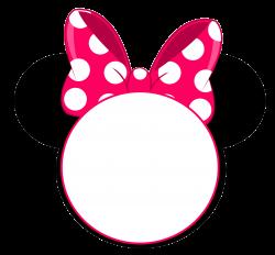 FREE Minnie Mouse Head Invitation Template | Pinterest | Invitation ...