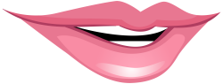 Pink Smiling Mouth PNG Clip Art - Best WEB Clipart