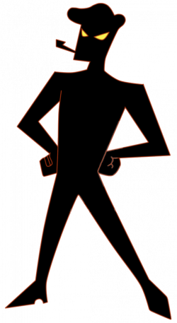 Evil Silhouette at GetDrawings.com | Free for personal use Evil ...