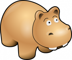 Hippo Clipart grey - Free Clipart on Dumielauxepices.net
