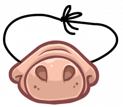 Funny Pig Snout | Club Penguin Wiki | FANDOM powered by Wikia