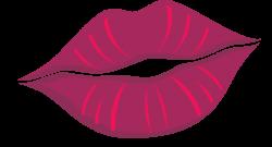 Cartoon Lips Purple transparent PNG - StickPNG