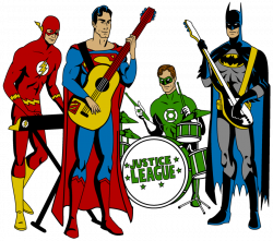 Justice League Band by Mbecks14 on DeviantArt