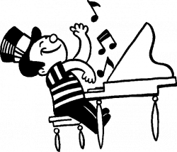 28+ Collection of Piano Music Clipart | High quality, free cliparts ...